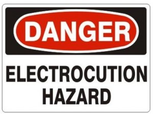 Danger Electrical Hazard Recommendations for the Use of Your Unit