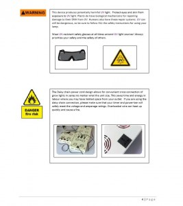 Owner's Manual Page 4