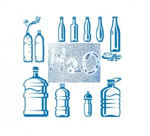 Various Water Bottles on the Market
