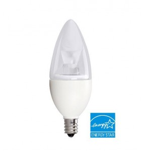 Candle light-4th Gen-5W-Energy-Star-Listed-JUST-LED-US-SmartRay