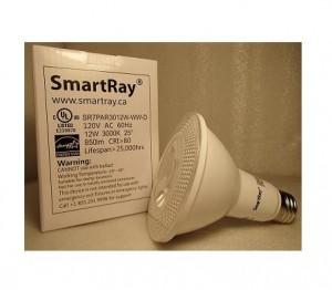 7th Gen PAR30 12W-WW-D PAR 30 7th Gen 12W-cULus-listed-Energy-Star-JUST-LED-US-SmartRay (2)