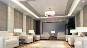 recessed down light fixture-Corp-office meeting-area-JUST-LED-US-SmartRay