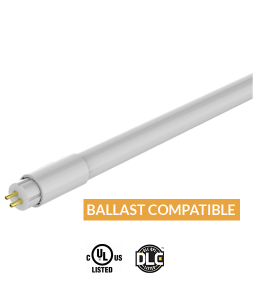 4ft-24W LED T5 Ballast Compatible Tubes-SmartRay-JUST-LED-US