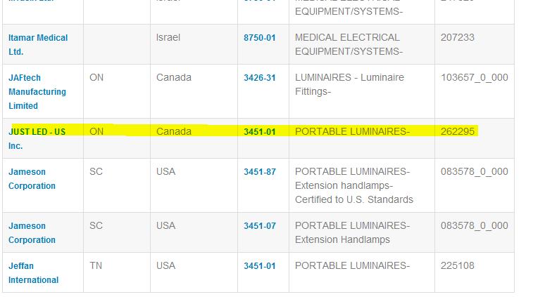 Portable Luminaries Results