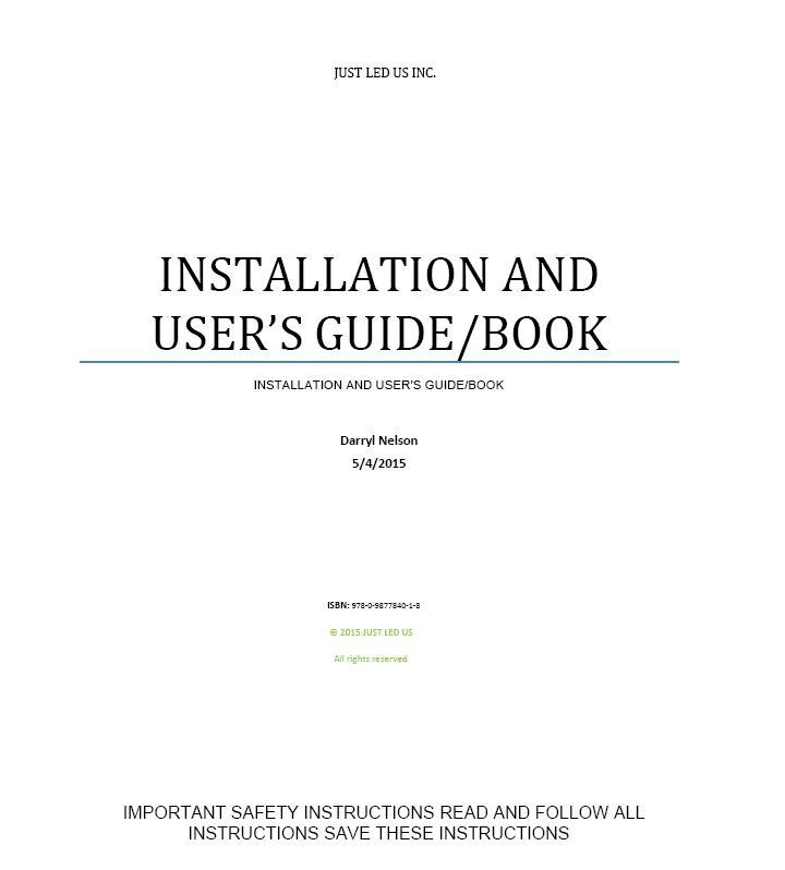 Owner's Manual 1
