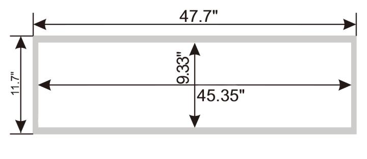 1x4 SmartPanel-flat-panel-Dimensions-smartray-just-led-us
